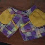 шорты штаны для пупса мишки