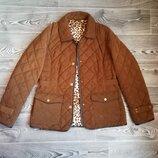 Курточка на синтепоне стеганая лёгкая весна - осень
