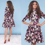 Платье 2 цвета 42,44,46 размеры, качество супер