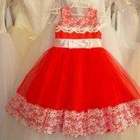 Прокат праздничное нарядное пышное платье выпусконой, 3-6 лет день рождение
