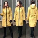 Дизайнерская Модель Плащ Пальто Демисезонная Куртка Fodarlloy Размеры 42-50