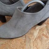 Туфли Ecco натур кожа оригинал 41 размер-27 см