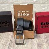 Подарочная деревянная коробка для ремней c логотипом Boss, брендированая