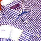 Шикарная рубашка в клетку - M - S
