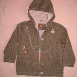 куртка для девочки на 3-4 года