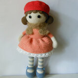 Вязаная кукла Дейзи