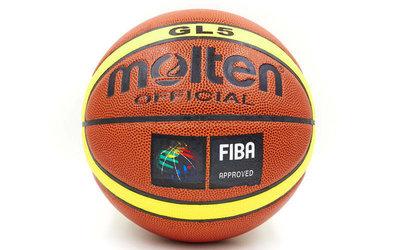 Мяч баскетбольный Molten GL5 4253 размер 5 PU, бутил