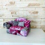 Мебель для кукол. Кукольный диван для Лол, Барби, Монстер Хай, Эвер Хай.