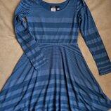 платье Zunie с длинным рукавом на 10-12 лет рост 140-152см