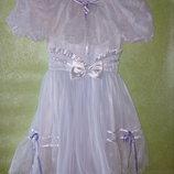 Прокат. Нежное платье для маленькой барышни на 6-8 лет.