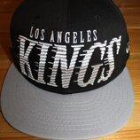 Кепка - реперка New era Los Angeles снепбек, хип-хоп с прямым козырьком. Качество кепки на высоте