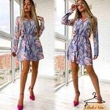 Красивое платье 42 - 46 две расцветки