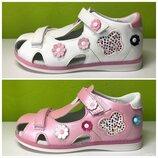 Босоножки сандалии девочка Тм Tom.m 26-31 р 2 цвета