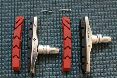 Качественные картриджные тормозные колодки v-brake