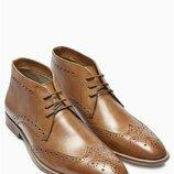 Кожаные ботинки от Next Деми англия 11,5 евро 46