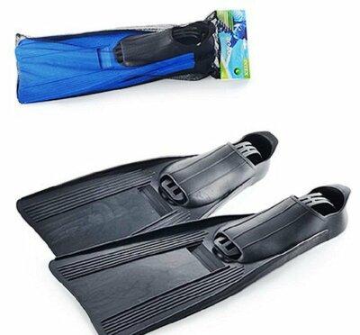 Ласты для плавания Intex 55935 XL 41-45 , 26-29 см, синие и черные