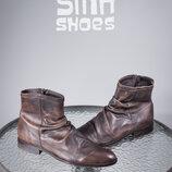 Сапоги SMH Shoes Unlimited 45р мужские ботинки кожаные челси дезерты