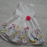 платье Tu на 2-4 года.