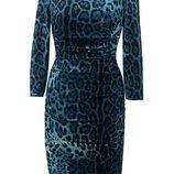 Платье леопардовое Dolce & Gabbana в наличии