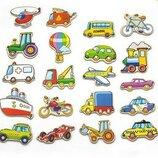 Набор магнитных фигурок «Транспорт» 20 шт. Viga toys 58924
