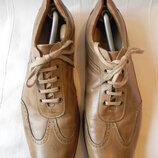 Брендовые мужские кожаные туфли Manz большой размер
