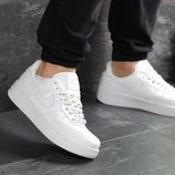 Кроссовки мужские Nike Air Force AF 1 white