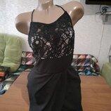 Супер стильное нарядное платье на 44-46р