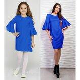 Комплект нарядных платьев фемели лук комплект платьев мама дочка платье летнее на фотосессию