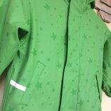 Куртка ветровка дождевик на флисе Impidimpi, р. 104