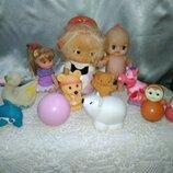 Игрушки Сср , резиновые игрушки ,игрушки лотом
