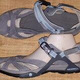 евро 41р-28 см на широкую туфли Merrell select grip ширина стельки 9.5 идеальное состояние кожа и ме