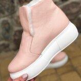 Кеды, ботинки высокие демо зима