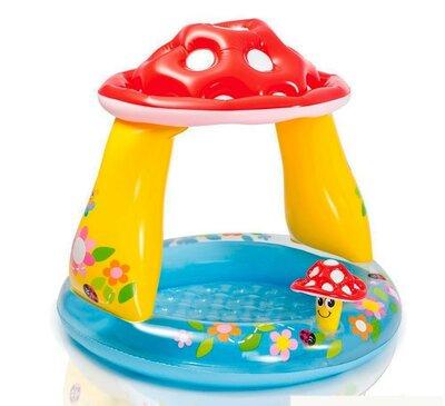 Детский надувной бассейн Гриб бесплатная доставка