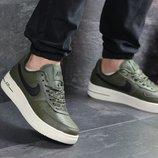 Кроссовки мужские Nike Air Force AF 1 dark green