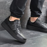 Кроссовки мужские Nike Air Force AF 1 black