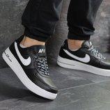 Кроссовки мужские Nike Air Force AF 1 black/white