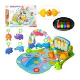 Коврик пианино для младенца PA518 свет, муз, дуга, игрушки