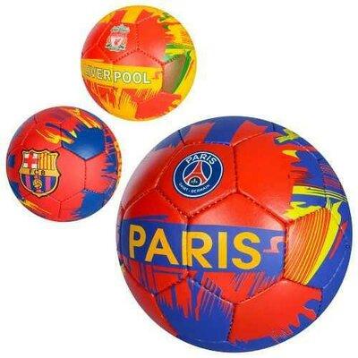 Мяч футбольный Football Club 2500-90 размер 5 3 цвета, PU