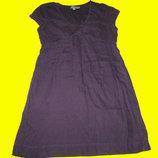 Льняное платье,размер 14,Boden