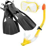 Набор для плавания Intex 55658 размер 38-40 маска трубка ласты