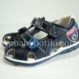 Кожаные сандали B&G, закрытые сандалии, с закрытой пяткой