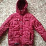 Куртка зимняя Kiko для мальчика р.140