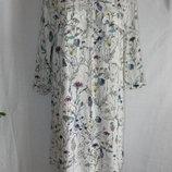 Натуральное легкое платье h&m 12p