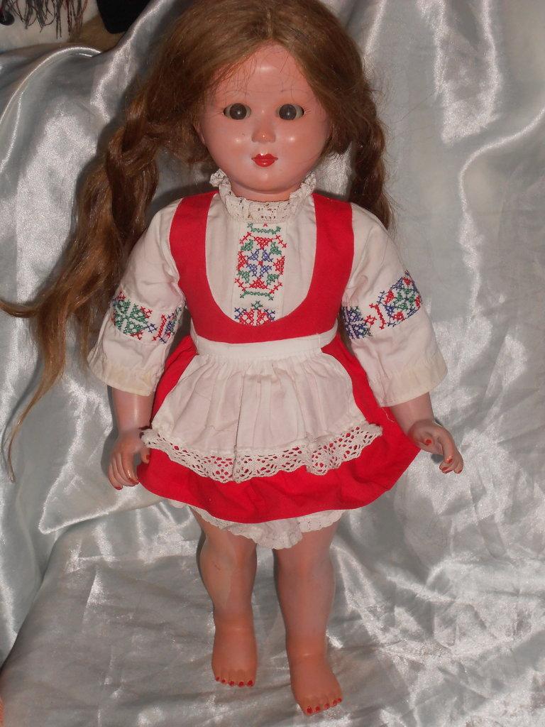 очень редкая антикварная кукла флиртушка Samco Италия оригинал клеймо 45 см реставрация: 600 грн - куклы, пупсы в Житомире, объявление №20914374 Клубок (ранее Клумба)