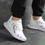 Кроссовки мужские Nike Air Max 270 x Supreme white