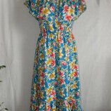 Нежное платье платье с оборками и открытыми плечами lily 12-14p