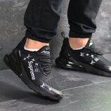 Кроссовки мужские Nike Air Max 270 x Supreme black