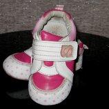 Кроссовки для девочек Calorie малиновые звездочки 13.8-14см