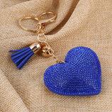 Сердце брелок подвеска новая в упаковке