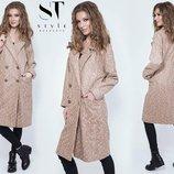 Новиночки Классное пальто- деми, размеры 42- 48